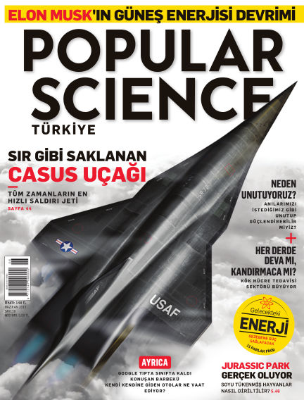 Popular Science - Turkey June 01, 2015 00:00