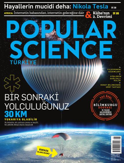 Popular Science - Turkey July 31, 2015 00:00
