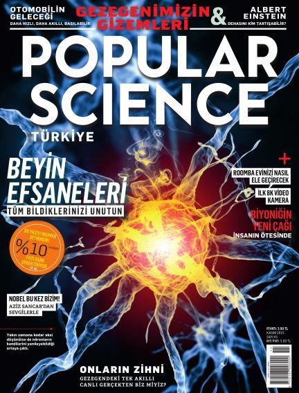 Popular Science - Turkey November 02, 2015 00:00