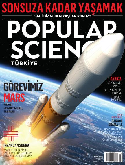 Popular Science - Turkey March 01, 2016 00:00