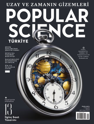 Popular Science - Turkey 9th September 2017