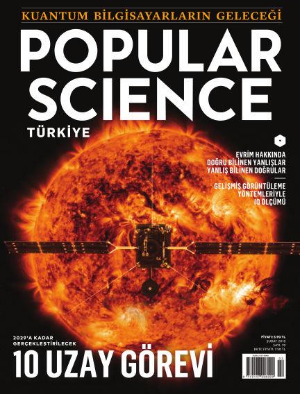 Popular Science - Turkey January 29, 2018 00:00