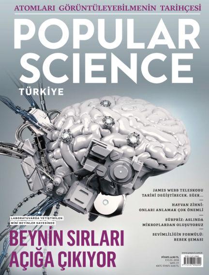 Popular Science - Turkey August 31, 2018 00:00