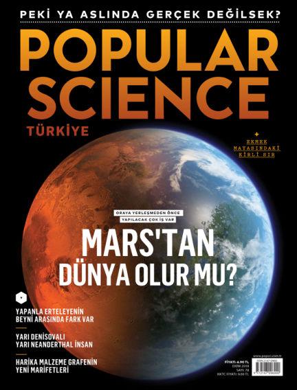 Popular Science - Turkey October 01, 2018 00:00