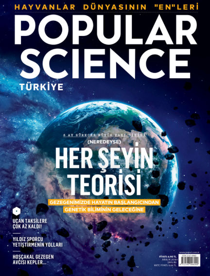 Popular Science - Turkey December 04, 2018 00:00