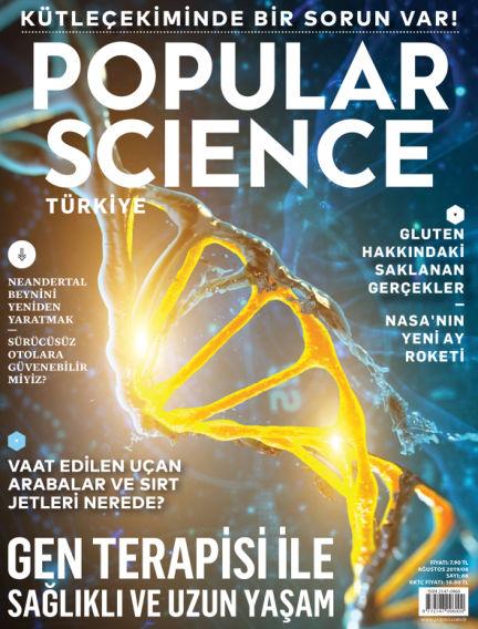 Popular Science - Turkey August 01, 2019 00:00