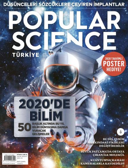 Popular Science - Turkey January 01, 2020 00:00