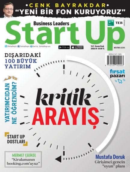 Startup November 14, 2018 00:00