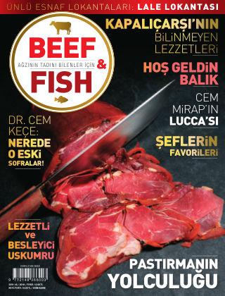 Beef & Fish October 2016