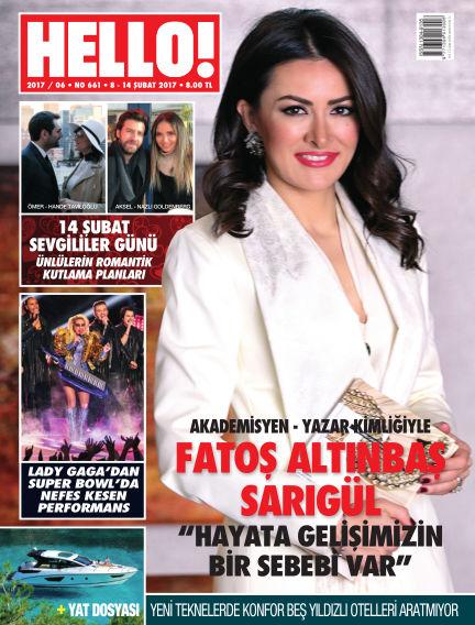 HELLO! - Türkiye February 08, 2017 00:00