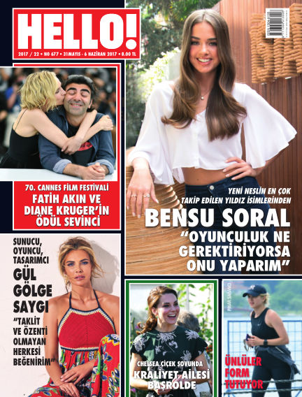 HELLO! - Türkiye May 31, 2017 00:00