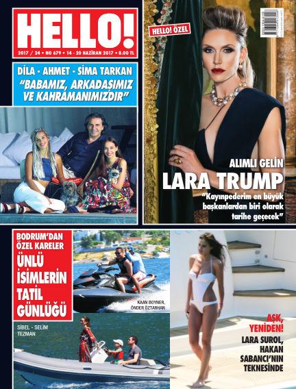 HELLO! - Türkiye June 15, 2017 00:00
