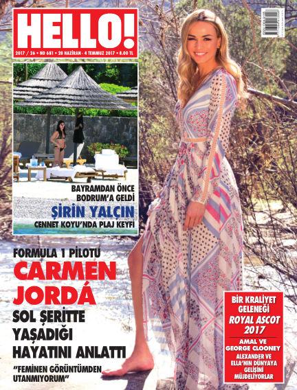 HELLO! - Türkiye July 03, 2017 00:00