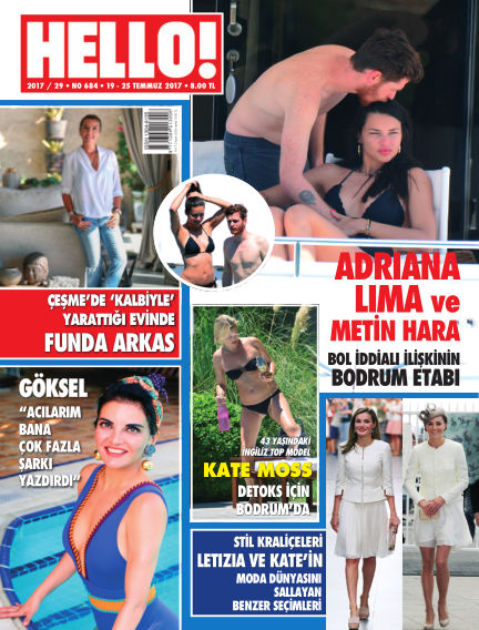 HELLO! - Türkiye July 24, 2017 00:00