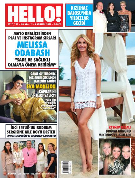 HELLO! - Türkiye August 08, 2017 00:00
