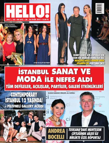 HELLO! - Türkiye September 20, 2017 00:00