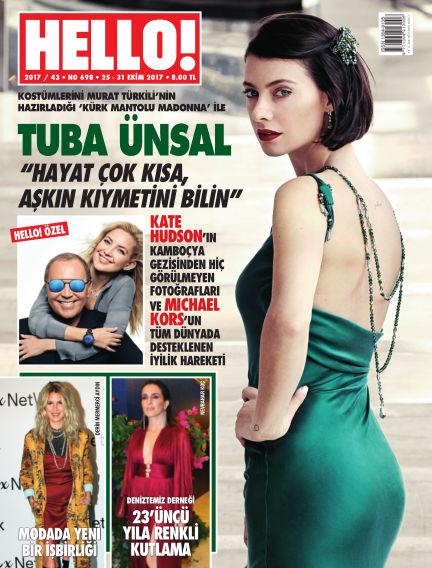 HELLO! - Türkiye October 25, 2017 00:00