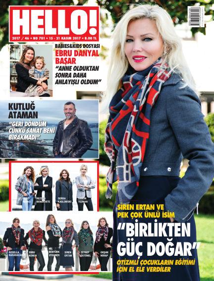 HELLO! - Türkiye November 16, 2017 00:00