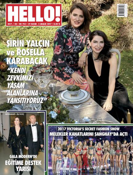 HELLO! - Türkiye November 30, 2017 00:00