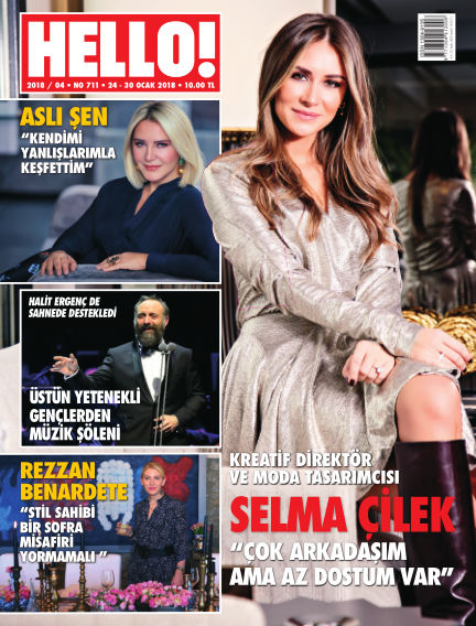 HELLO! - Türkiye January 25, 2018 00:00
