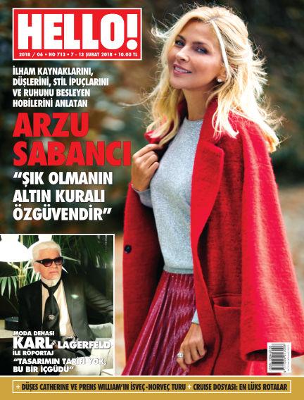 HELLO! - Türkiye February 08, 2018 00:00
