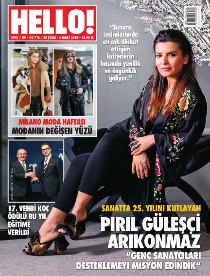HELLO! - Türkiye February 27, 2018 00:00