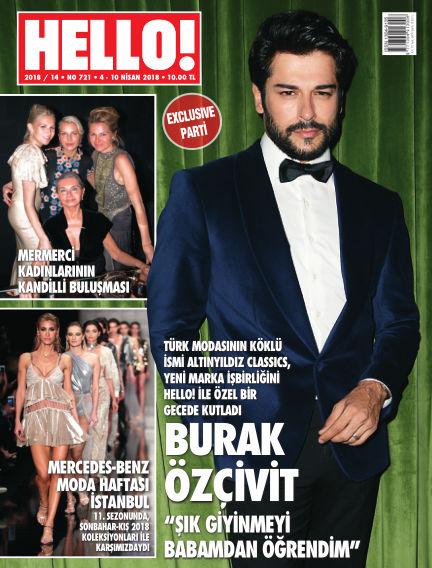 HELLO! - Türkiye April 04, 2018 00:00