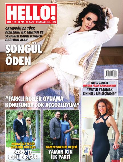 HELLO! - Türkiye June 01, 2018 00:00