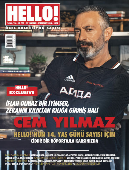 HELLO! - Türkiye June 27, 2018 00:00