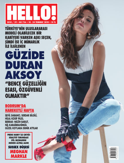 HELLO! - Türkiye July 20, 2018 00:00