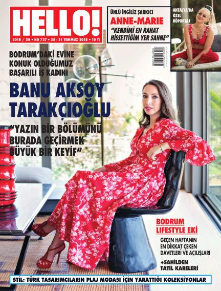 HELLO! - Türkiye July 27, 2018 00:00