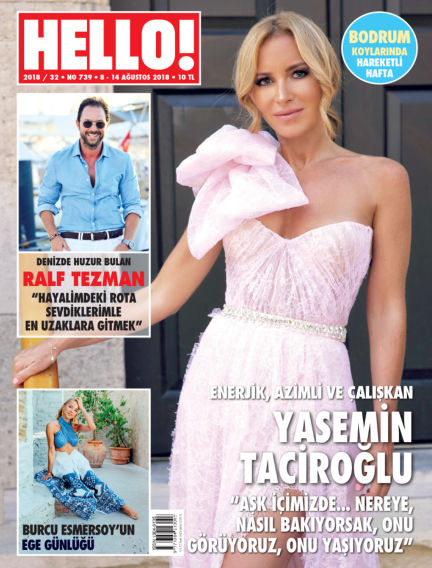 HELLO! - Türkiye August 15, 2018 00:00