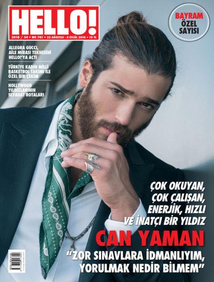 HELLO! - Türkiye August 23, 2018 00:00
