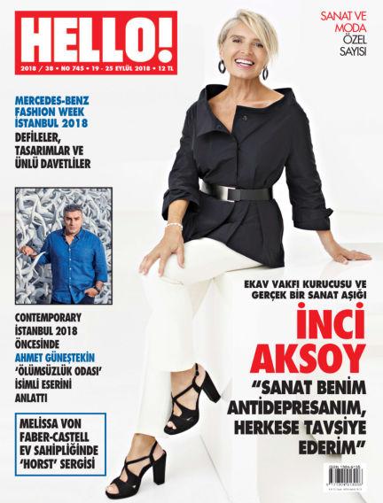 HELLO! - Türkiye September 19, 2018 00:00