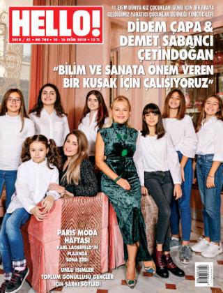 HELLO! - Türkiye 2018-10-11