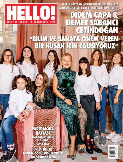 HELLO! - Türkiye October 11, 2018 00:00
