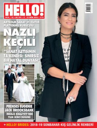 HELLO! - Türkiye 2018-10-18