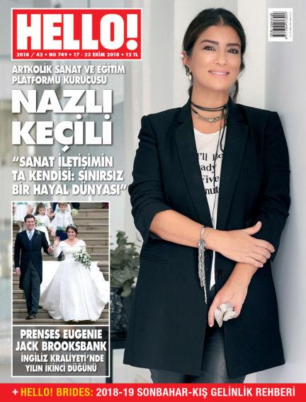 HELLO! - Türkiye October 17, 2018 00:00