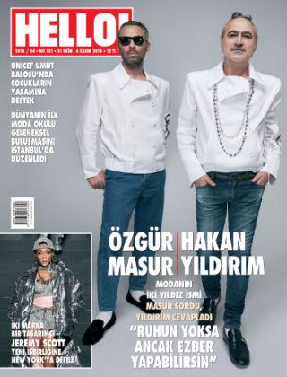 HELLO! - Türkiye 2018-11-01