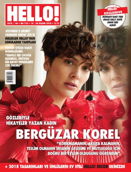 HELLO! - Türkiye November 15, 2018 00:00