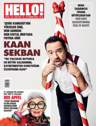 HELLO! - Türkiye 2018-11-21
