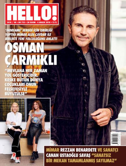 HELLO! - Türkiye November 28, 2018 00:00