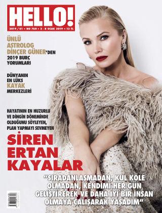 HELLO! - Türkiye 2019-01-02