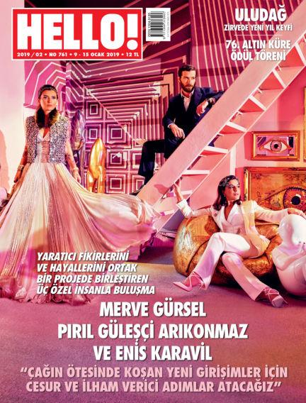 HELLO! - Türkiye January 13, 2019 00:00