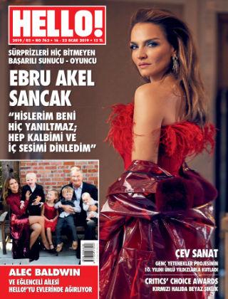 HELLO! - Türkiye 2019-01-16