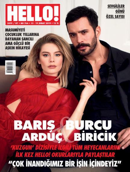 HELLO! - Türkiye February 13, 2019 00:00