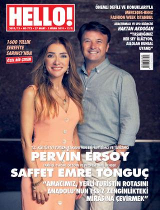HELLO! - Türkiye 2019-03-28