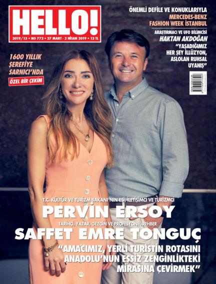 HELLO! - Türkiye March 28, 2019 00:00