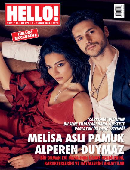 HELLO! - Türkiye April 03, 2019 00:00