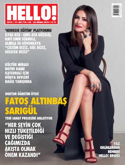 HELLO! - Türkiye April 24, 2019 00:00